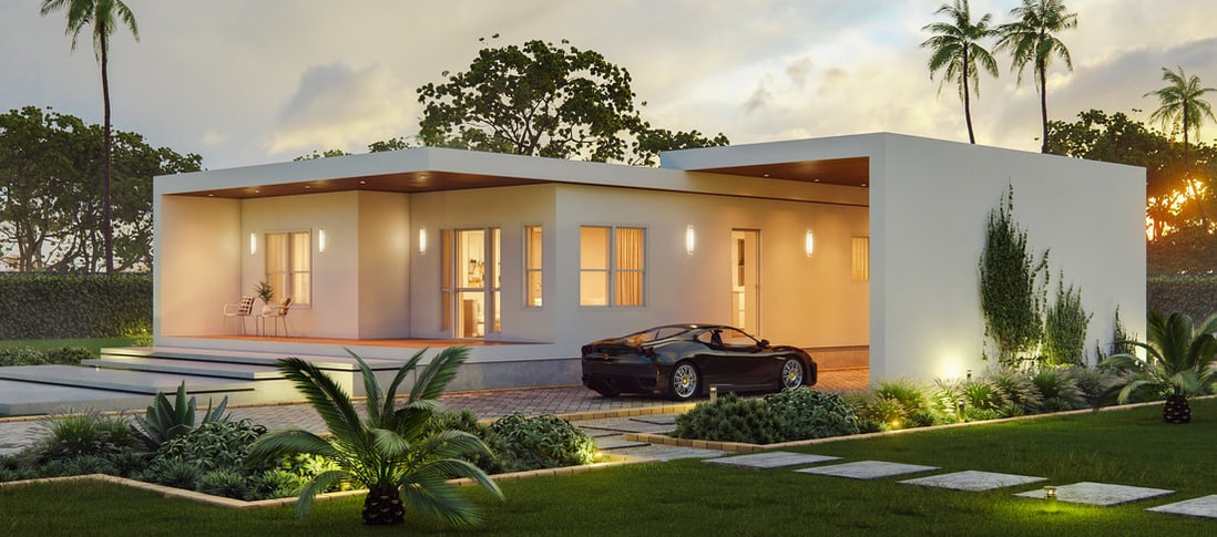 Affordable hurricane proof houses - Katana House